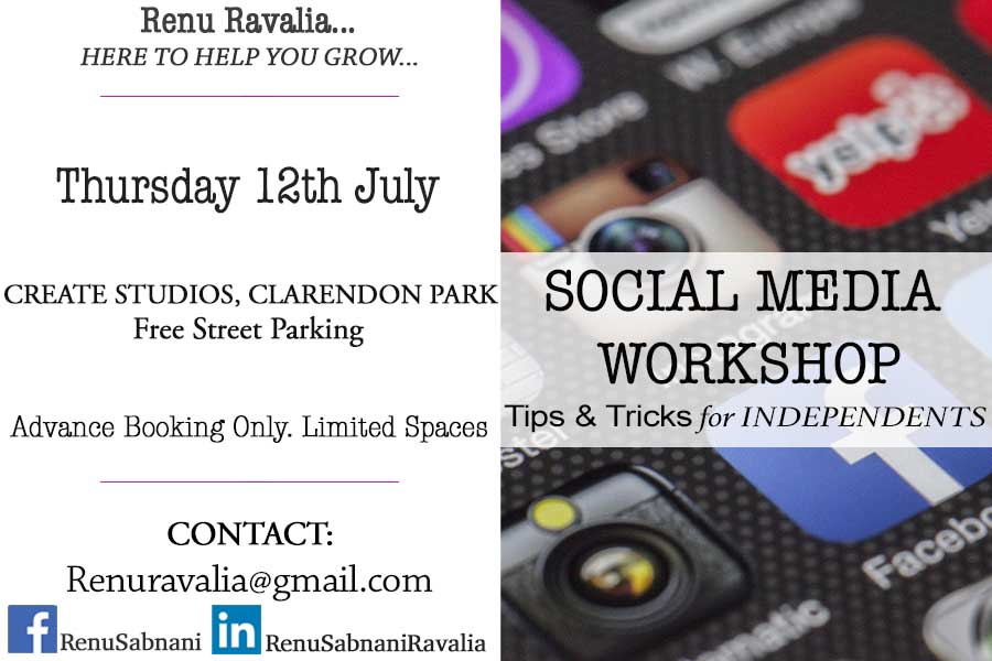 Social Media Workshop Leicester